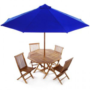 cheap teak garden set